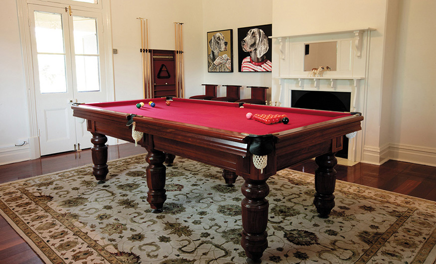 Laurelville Manor billiard