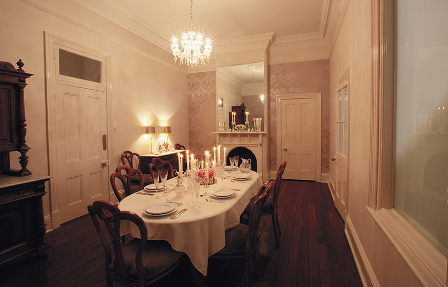 Laurelville Manor dining