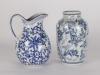 Blue white jug vase web