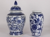 blue white jar vase web