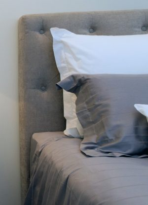 bedhead, upholstered, buttoning, neutral, bedroom, furniture, style, veranda, perth, claremont