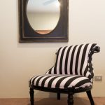 black, white, stripe, bedroom, chair, furniture, hamptons, french, provincial, style, perth, claremont