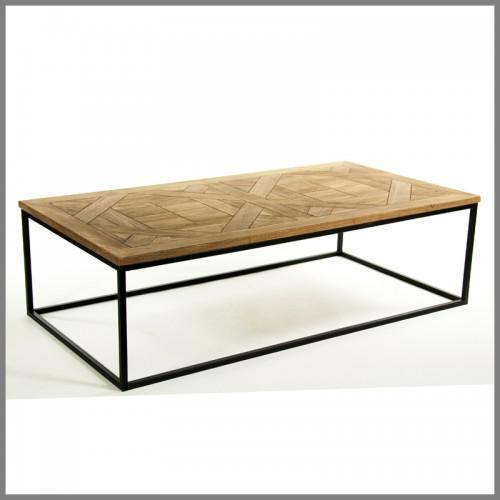 Parker rectangular coffee table veranda home garden for Table table table