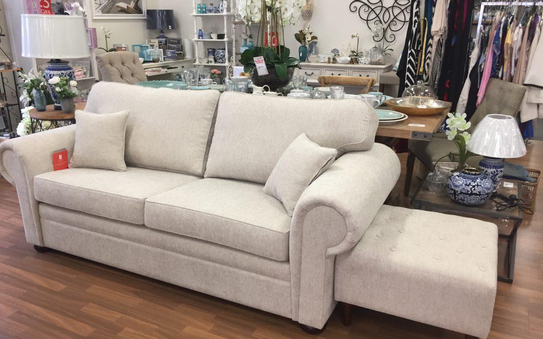 Cobar Sofa in Liam Pumice