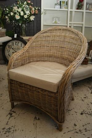 Cane Tub Chair – Veranda Home & Garden